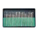 Assortment of 20 Diamond Burs, 3/32