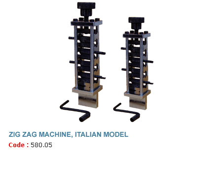 Zig Zag Machine, Italian Model