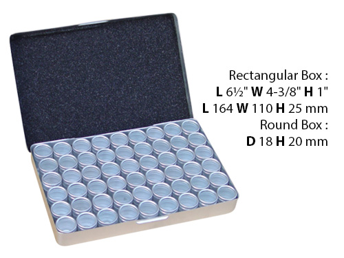 Aluminum Boxes Set