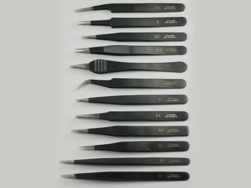 Epoxy Tweezers Set Of 10