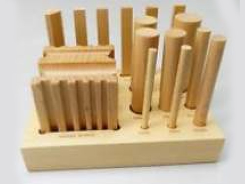Wood Swage Block & Punches Set